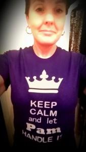 Keep Calm heat press t-shirt